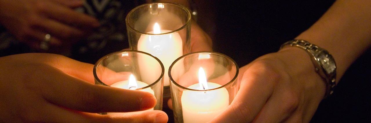 candlelight vigil service