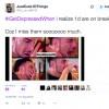 Tweet making light of depression