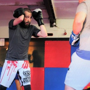 Harry Williams MMA sparring.