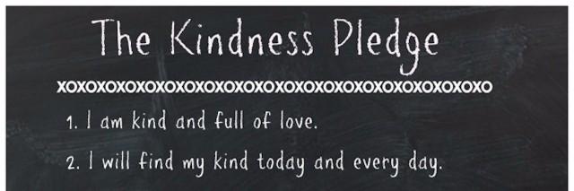 the kindness pledge