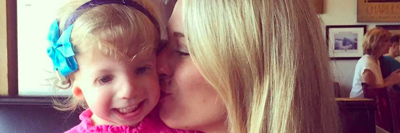 Eloise with her daughter Landon.