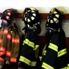 Firefighter helmets and jackets