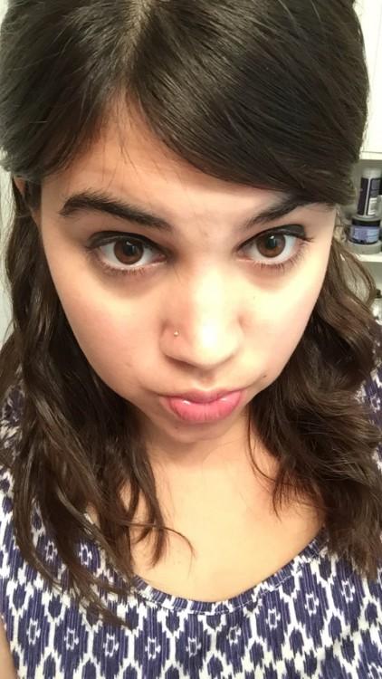 Ilana's non-hospital selfie