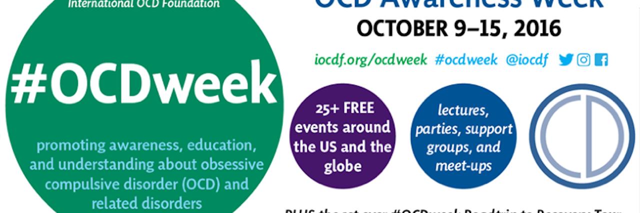 OCD Awareness Week poster