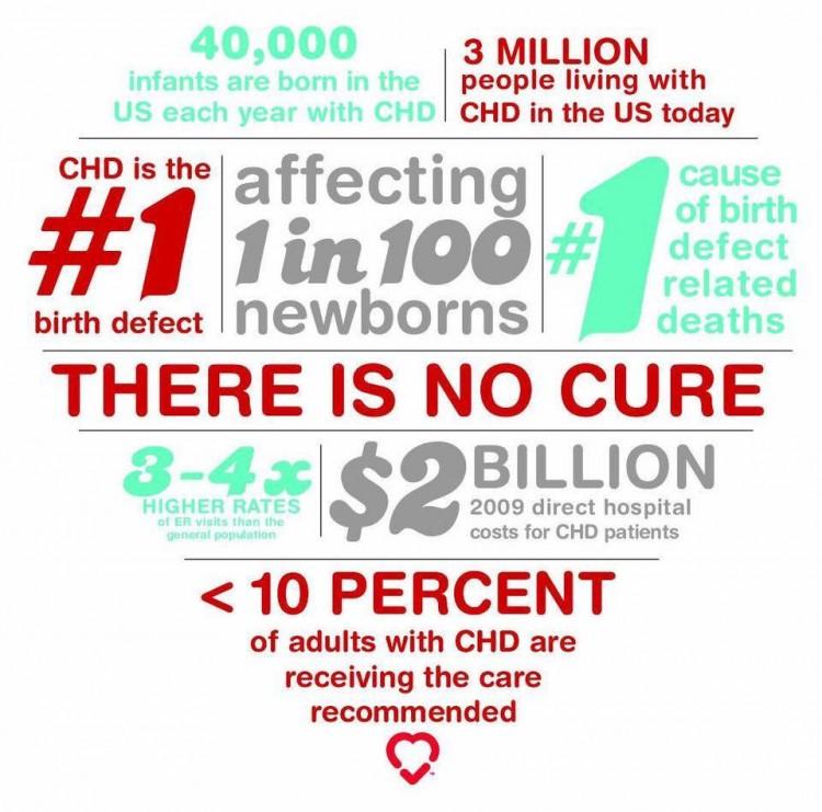 Pediatric Congenital Heart Association - Info Graph