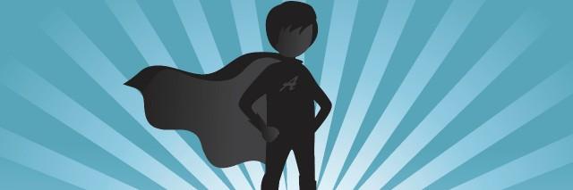 Boy superhero.