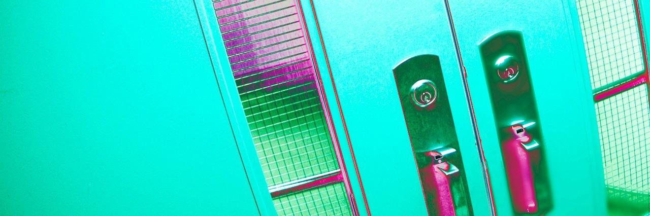 doors of a hospital