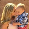 Jillian and her son.