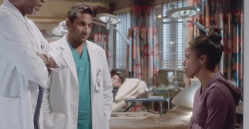 screenshot of grey's anatomy episode about ehlers danlos syndrome