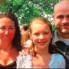 the author as a young girl and her parents