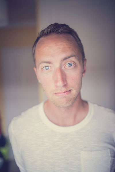 headshot of Joel Robison