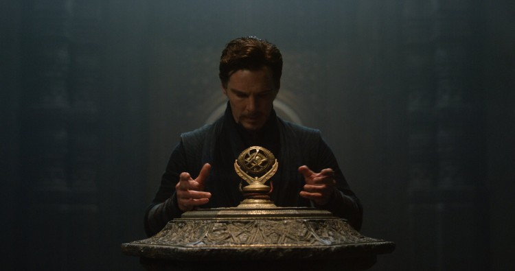 image of benedict cumberbatch in doctor strange movie