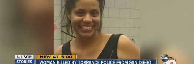 A screenshot from a news clip explaining Michelle Shirley's death.