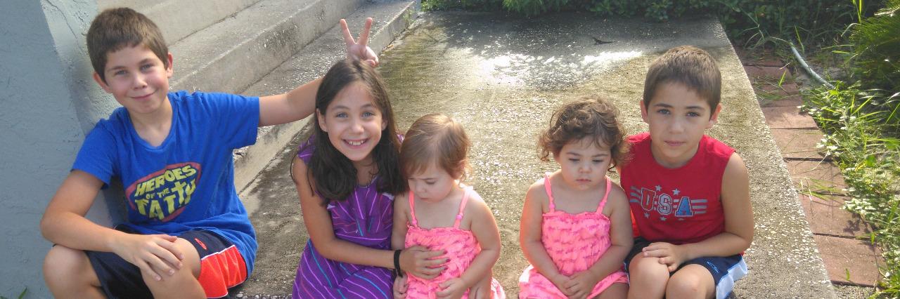 Rebekah Martin's children.