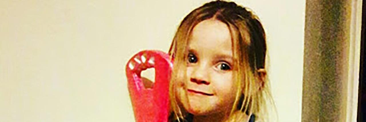 Annie's niece, Keira.