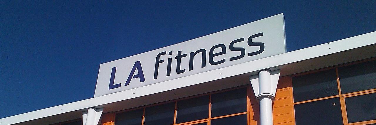 Photo of LA Fitness Sign