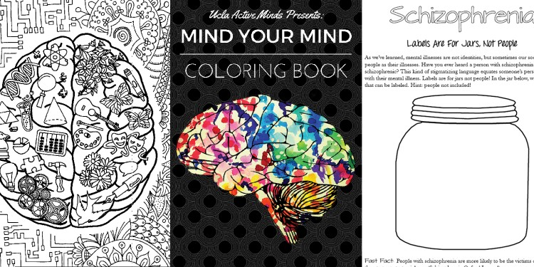 coloring pages from Mind Your Mind Coloring book