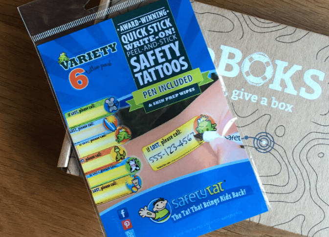 Photograph of SafetyTats in a LifeBOKS