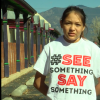 see something say something t shirt