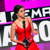selena gomez makes a speech at the AMAs