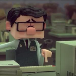 "Screenshot of Disney Short film ""Inner Workings"""