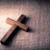 A wooden cross