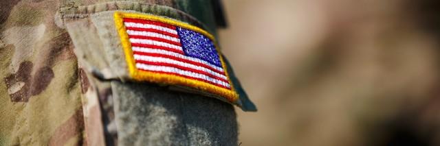 Man in a USA uniform