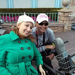 Kacy and Jen at Disneyland.