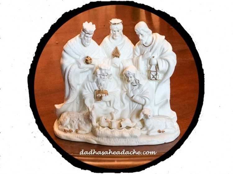 nativity sculpture