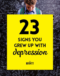23 Signs You Grew Up With Depression