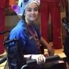 girl sitting in wheelchair