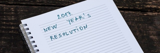 New Year's resolution 2017