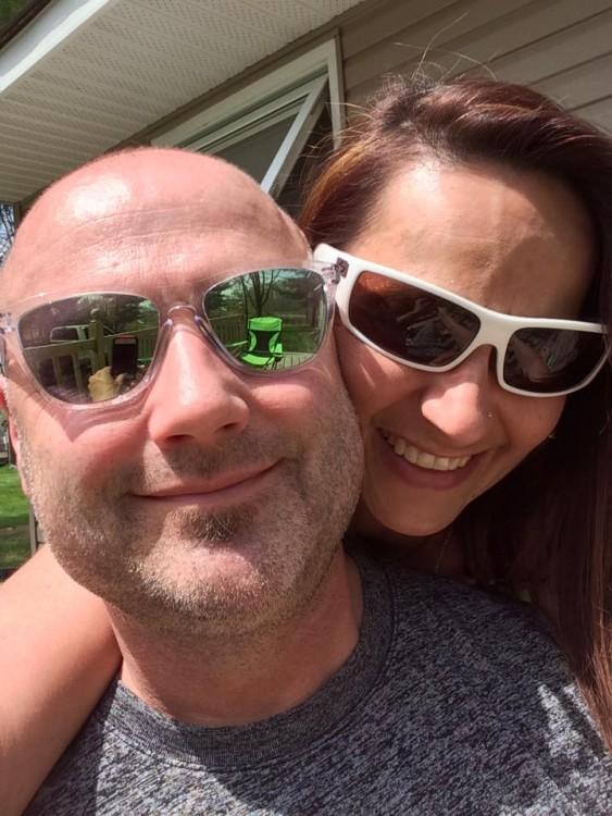 Kimberly and her husband, Rob