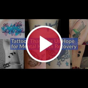 tattoos showing mental health recovery