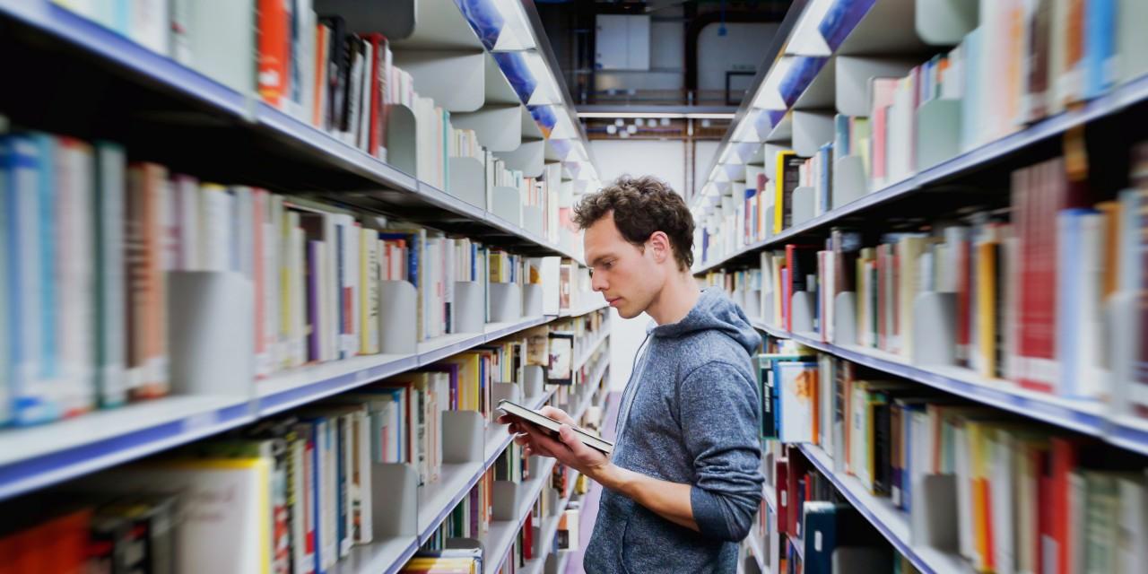 essay of school library