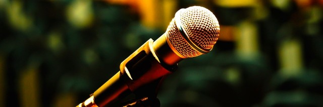A microphone in an assembly