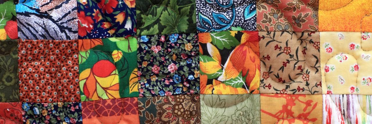 Homemade patchwork