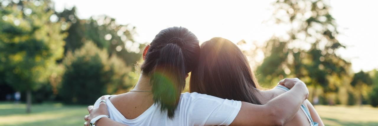teens embracing