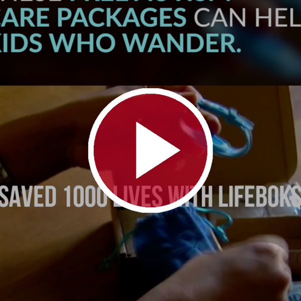 lifeboks behind red video play button