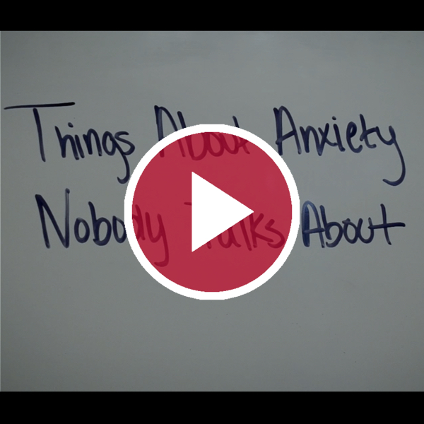 'Things About Anxiety Nobody Talks About'