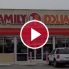 family dollar behind red video play button