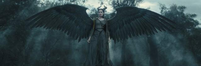 angelina jolie as maleficent in 2014 disney movie