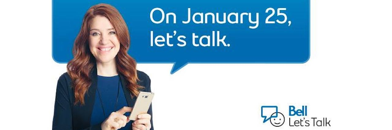 Bell Let's Talk Campaign