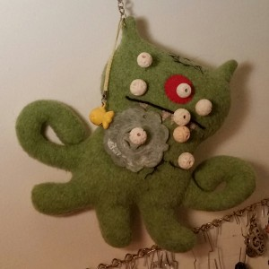 voodoo doll made from an Ugly Doll