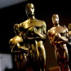 Academy Award statues. (Photo by Toby Canham/Getty Images)