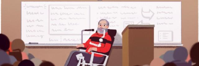 Google doodle honoring Ed Roberts