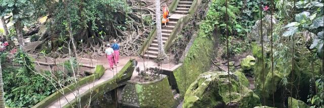 Steps at Elephant Temple, Bali