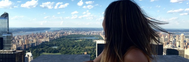 Miriam in New York City.