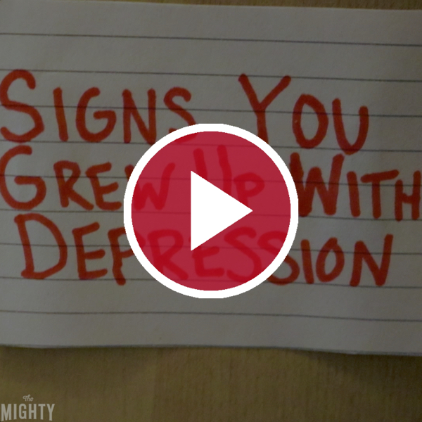 'Signs You Grew Up With Depression'