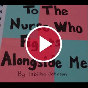'To the Nurse Who Fights Alongside Me Tabitha Johnson'